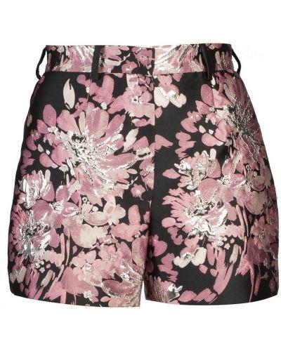 Короткие шорты с цветочным принтом шелковые Dolce&gabbana