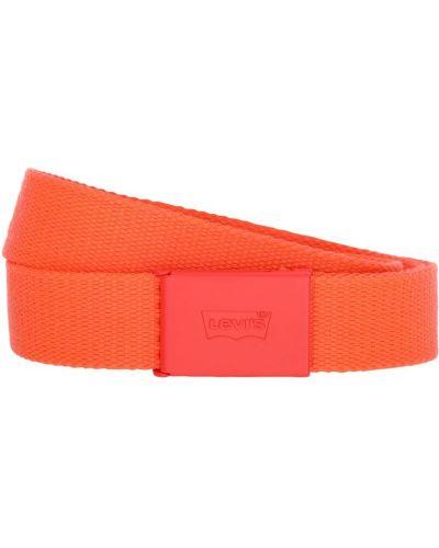 Pomarańczowy pasek z paskiem klamry Levi's Red Tab
