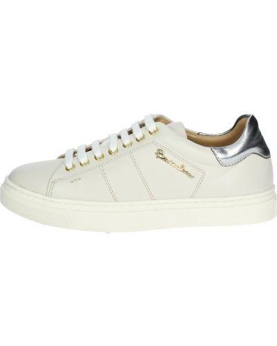 Białe sneakersy Braccialini