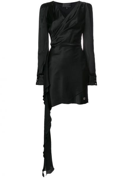 Платье с запахом на пуговицах Philipp Plein