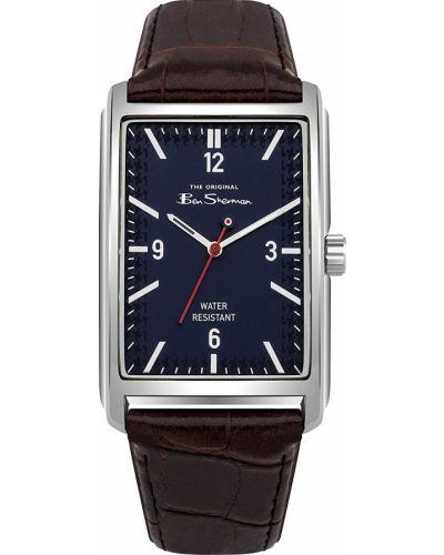 Часы водонепроницаемые с кожаным ремешком деловые Ben Sherman