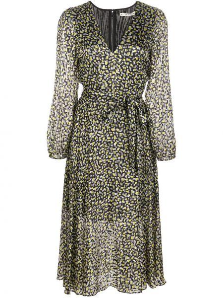 Платье миди с V-образным вырезом на молнии Alice+olivia