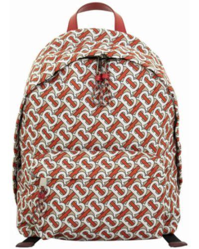 Czerwony plecak Burberry