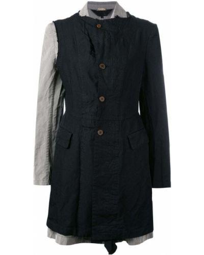 Черное пальто с капюшоном Comme Des Garçons Comme Des Garçons
