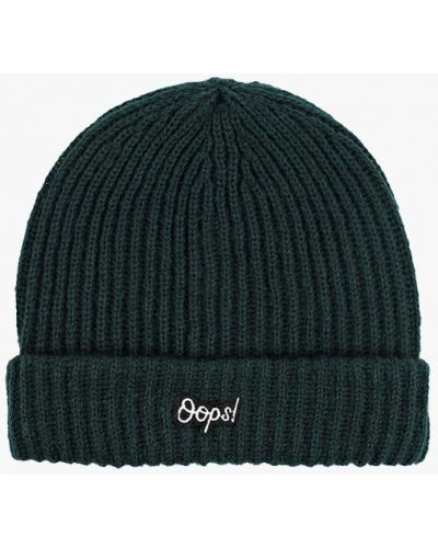 Зеленая шапка осенняя Pieces