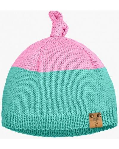 Бирюзовая шапка весенняя Anmerino