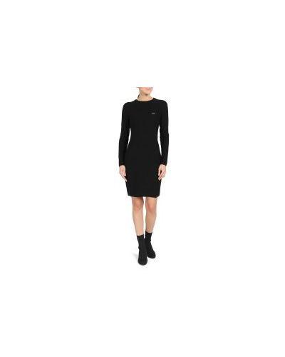Платье черное Lacoste
