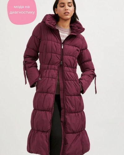 Свободная утепленная красная куртка Finn Flare