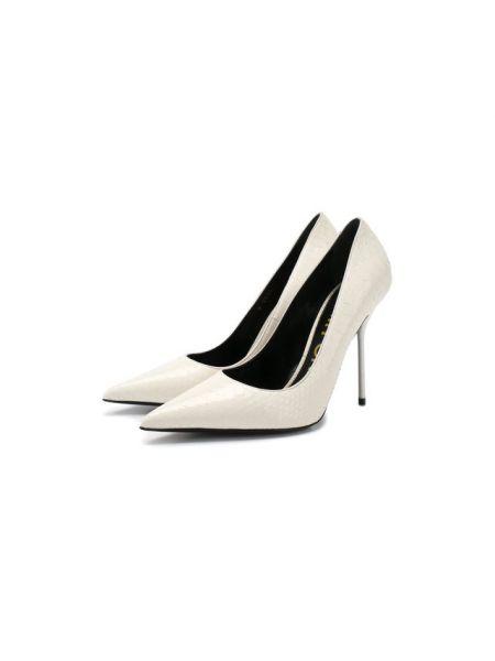 Кожаные туфли - белые Tom Ford