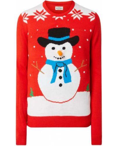 Prążkowany sweter Montego
