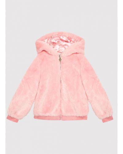 Futro - różowy Guess