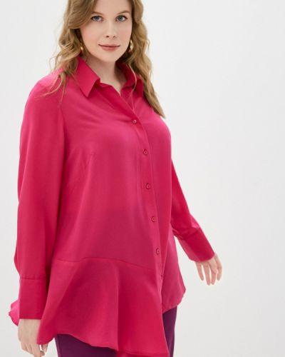Розовая с рукавами блузка Svesta