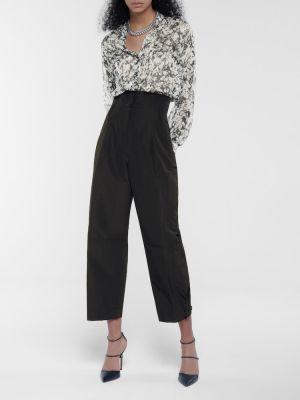 Шелковая черная блузка Dorothee Schumacher