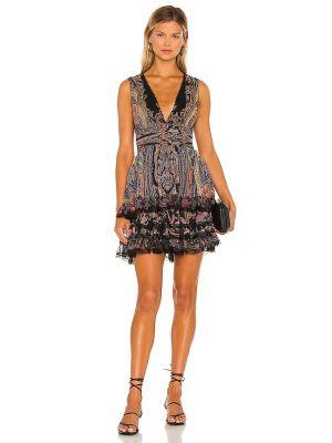 Шифоновое вечернее платье - черное Rococo Sand
