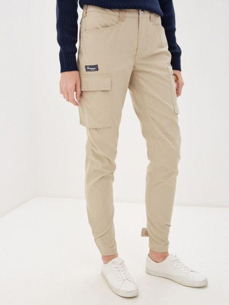 Бежевые брюки Bergans Of Norway