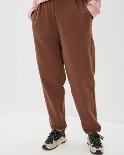 Коричневые спортивные брюки Jp