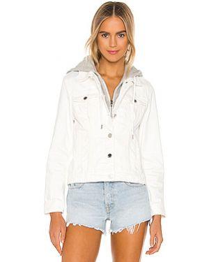 Куртка с капюшоном джинсовая на пуговицах [blanknyc]