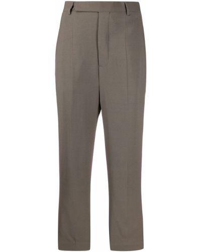 Укороченные брюки с карманами с поясом Rick Owens