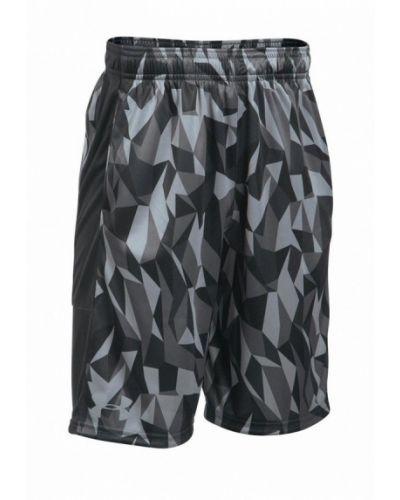 Черные шорты спортивные Under Armour