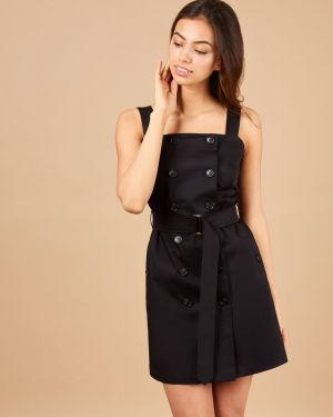 Платье мини сафари платье-сарафан 12storeez