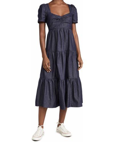 Платье - синее Likely
