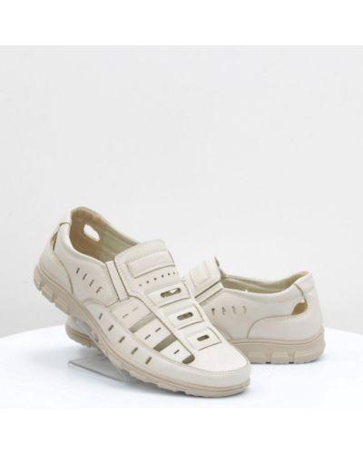 Кожаные туфли - бежевые Stylen Gard