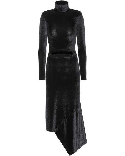 Платье миди деловое черное Vetements