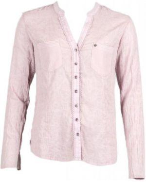 Розовая деловая рубашка для офиса Northland
