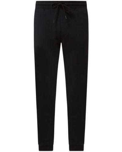 Czarne spodnie dresowe bawełniane Mcneal