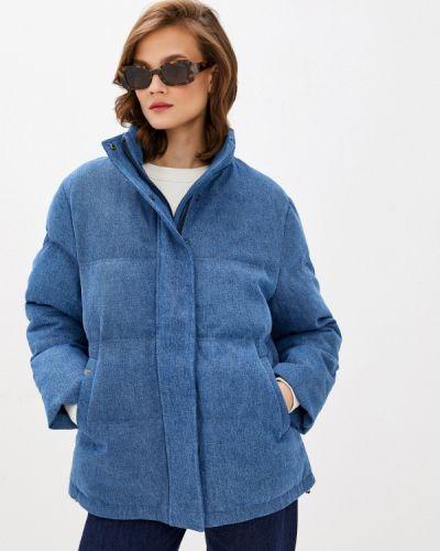 Утепленная синяя куртка Unq