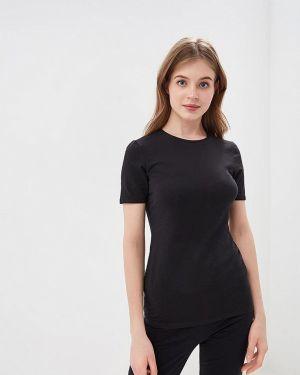Домашняя футбольная черная футболка Tezenis