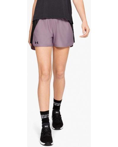 Спортивные шорты фиолетовый Under Armour