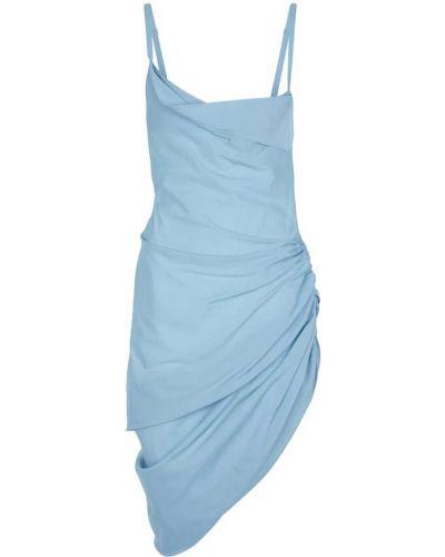 Sukienka mini - niebieska Jacquemus