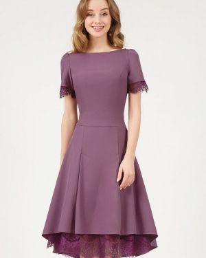 Коктейльное платье розовое Marichuell