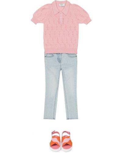 Różowa koszula bawełniana Paade Mode