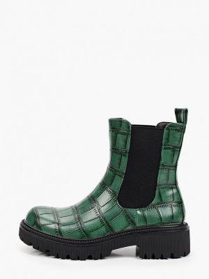 Зеленые резиновые ботинки La Bottine Souriante