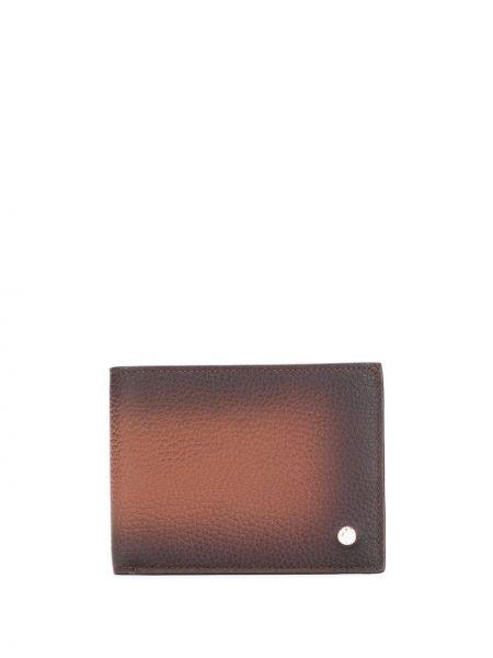 Brązowy portfel skórzany Orciani