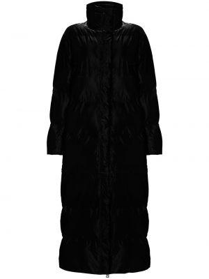 Длинный пуховик - черный Rains