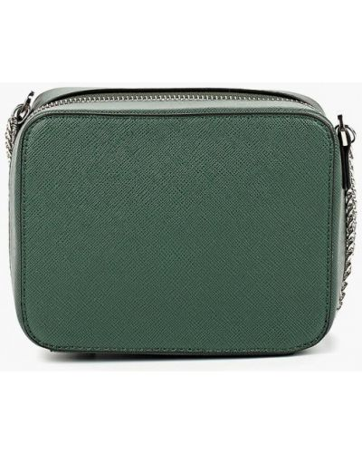 Зеленая сумка через плечо Zarina