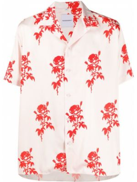 Свободная рубашка с короткими рукавами для сна на пуговицах Nasaseasons