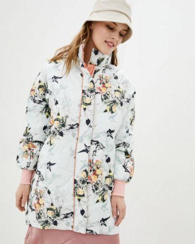 Утепленная куртка - белая Clasna