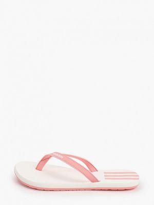 Сланцы розовый текстильный Adidas