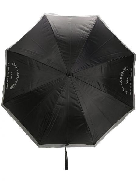 Parasol z nadrukiem z logo Karl Lagerfeld