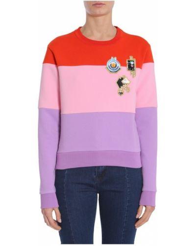 Różowa bluza dresowa Carven