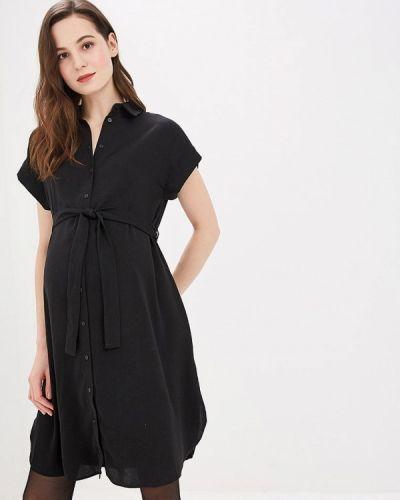 Черное платье весеннее Dorothy Perkins Maternity