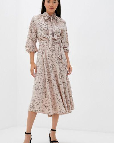 Розовое прямое платье Imocean