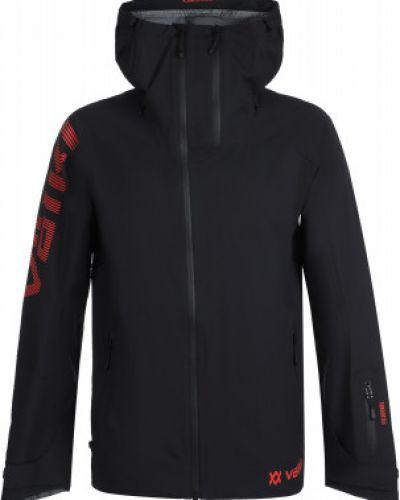 Черная куртка на молнии с капюшоном VÖlkl