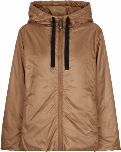 Повседневная коричневая стеганая куртка Max Mara