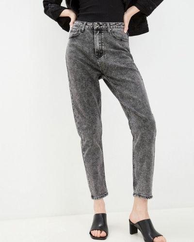 Серые джинсы-скинни узкого кроя Bruebeck