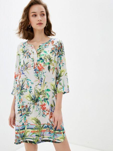 Повседневное платье серое весеннее Savage
